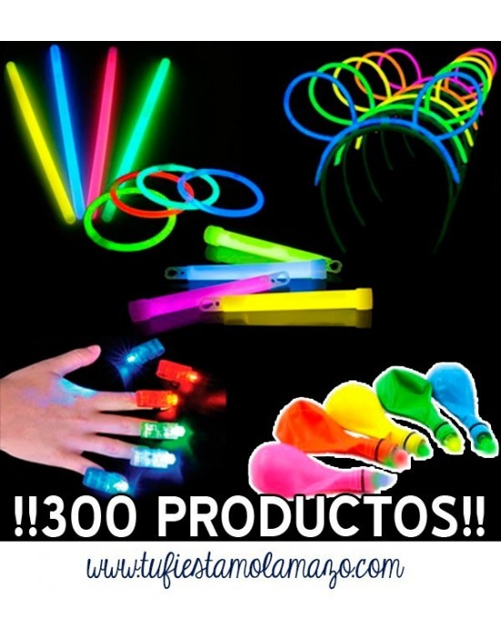 Pack Luminosos con 300 productos