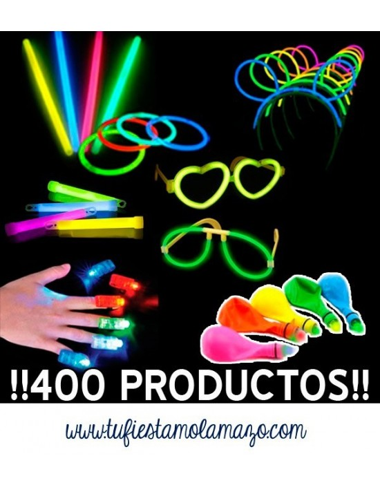 Pack luminoso con 400...
