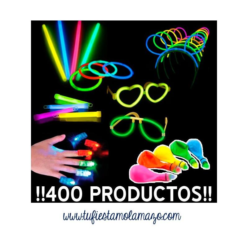 Pack luminoso con 400 productos