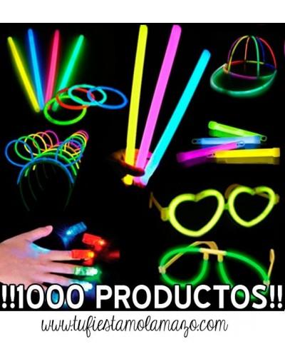 Pack luminoso con 1.000 productos