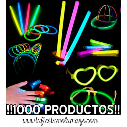 Pack luminoso con 1.000 productos