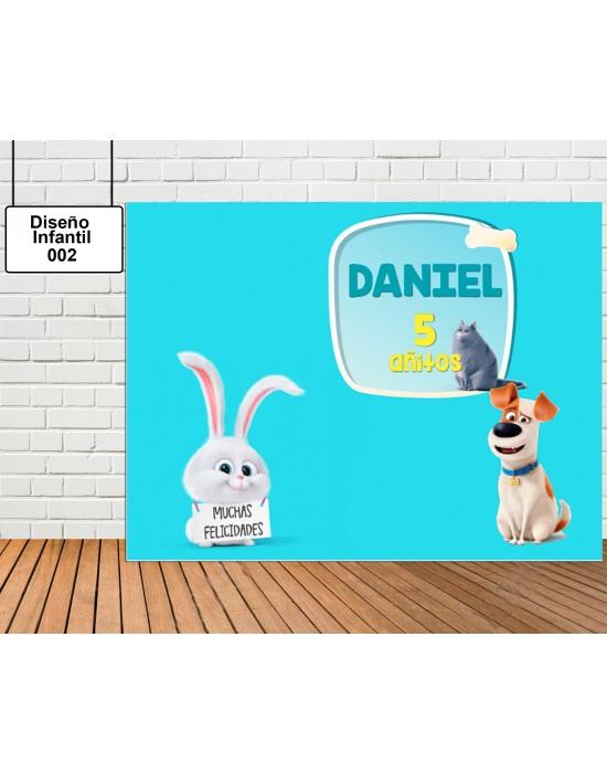 Diseño Infantil de Mascotas