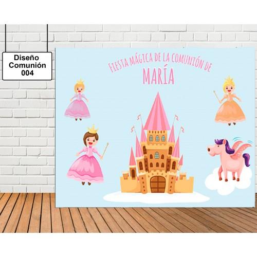 Diseño de Comunión de Princesas