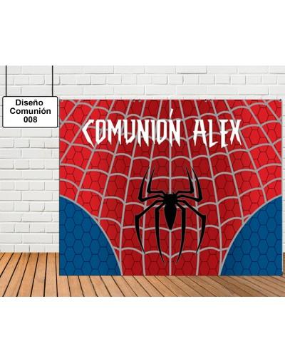 Diseño de Comunión de Spiderman