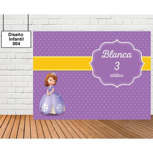 Diseño Infantil de Princesa