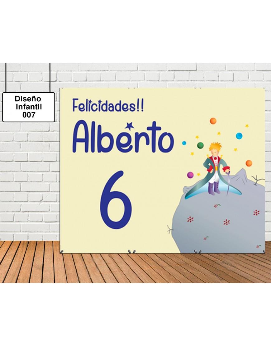 Photocall Diseño Infantil del Principito