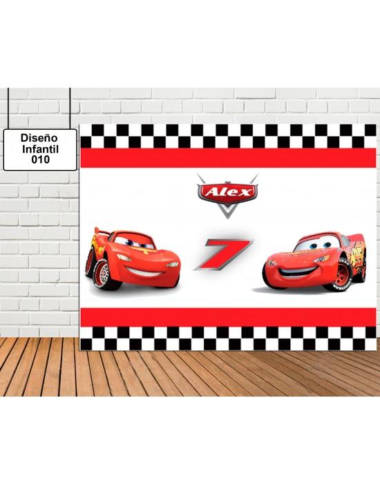 Photocall Diseño infantil Cars