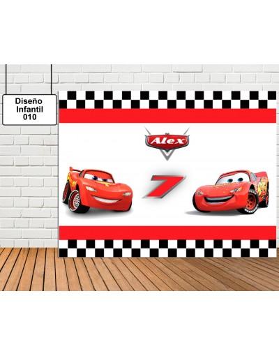 Diseño Infantil de Cars