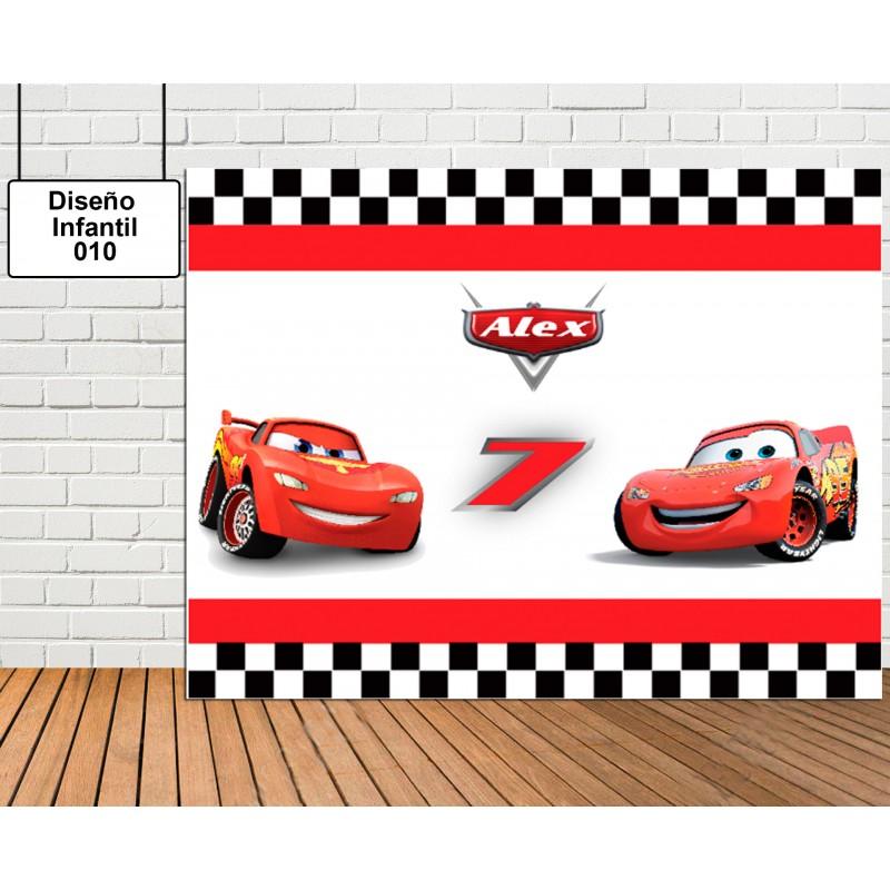 Diseño infantil Cars