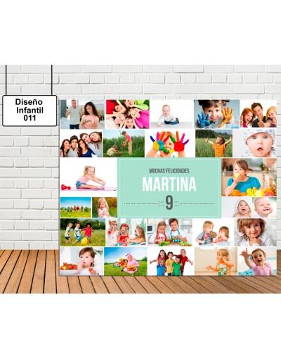 Diseño Infantil de Collage