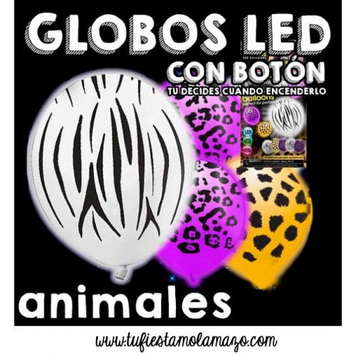 Globos luminosos LED de Animal