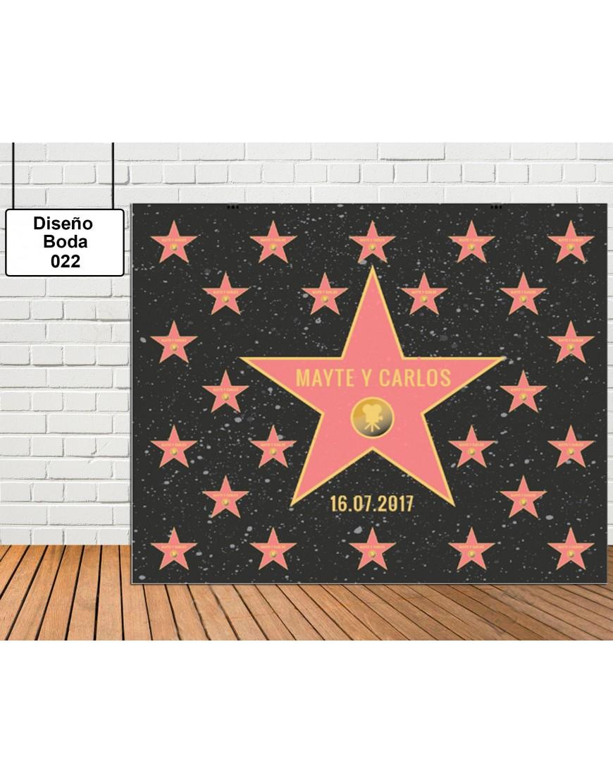 Diseño de Boda de Estrellas