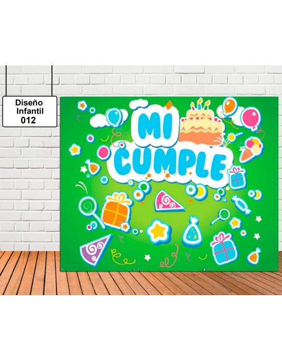 Photocall Diseño de infantil de Letras