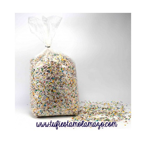 CONFETI SACO BIODEGRADABLE