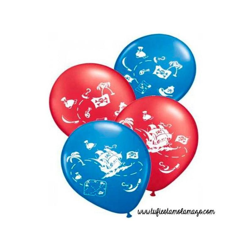 decoracion de globos con fiestas infantiles decoración de piratas