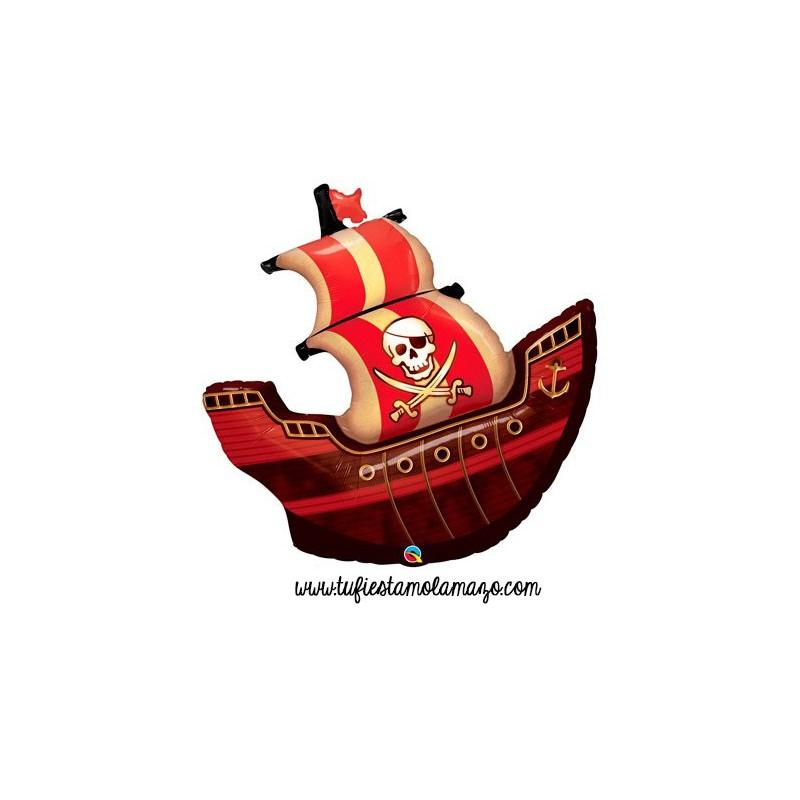 Decoración infantil de barco pirata