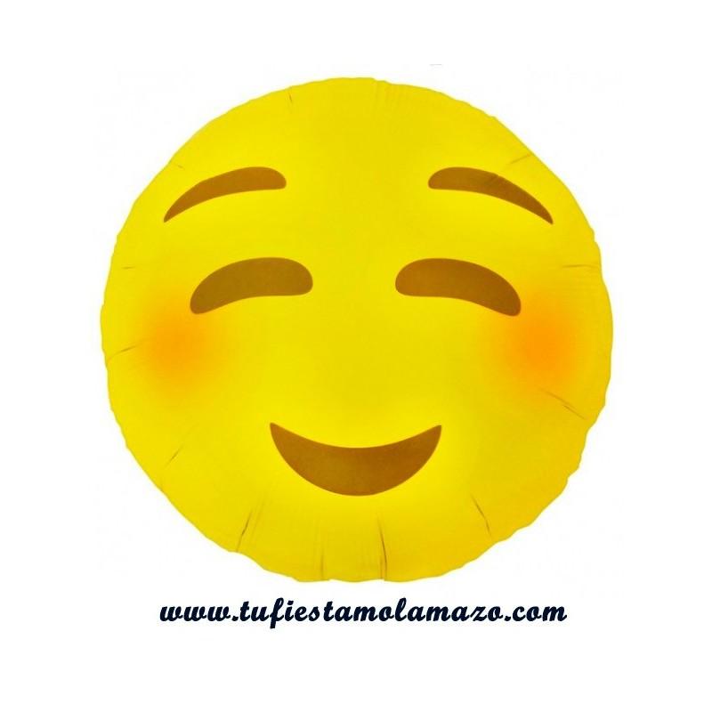 Emoticionos, emoticono sonrojado