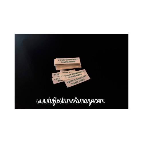 Confeti rectangular personalizado