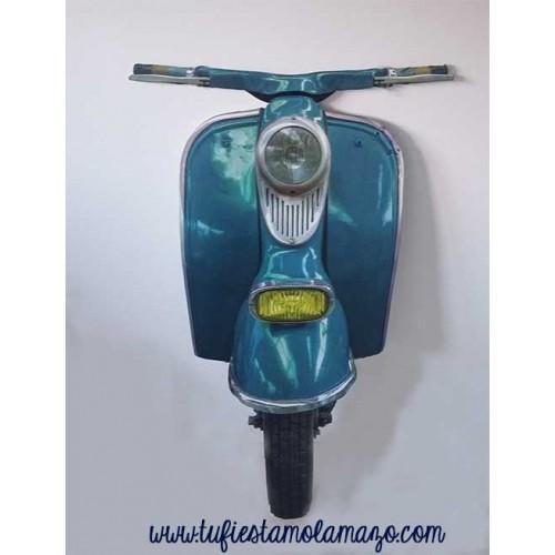 Moto Vespa para photocall