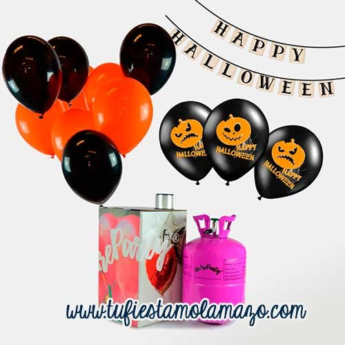 Pack de helio party halloween