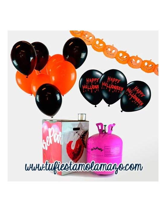 Pack Halloween Maxi 50 Naranja y Negro