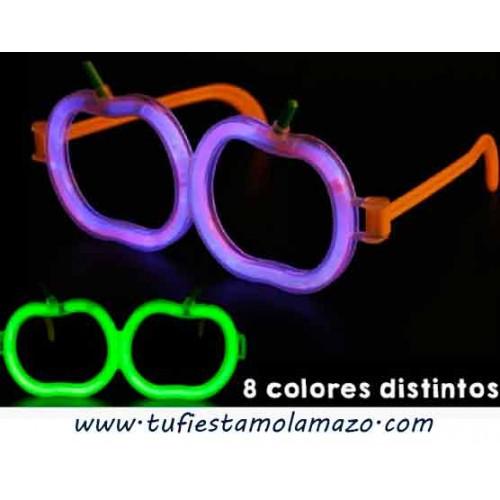 Gafas luminosas de calabazas