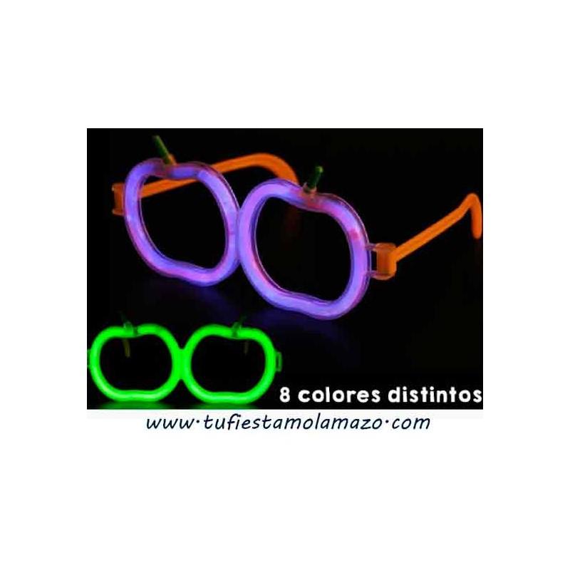 Gafas luminosas de calavera