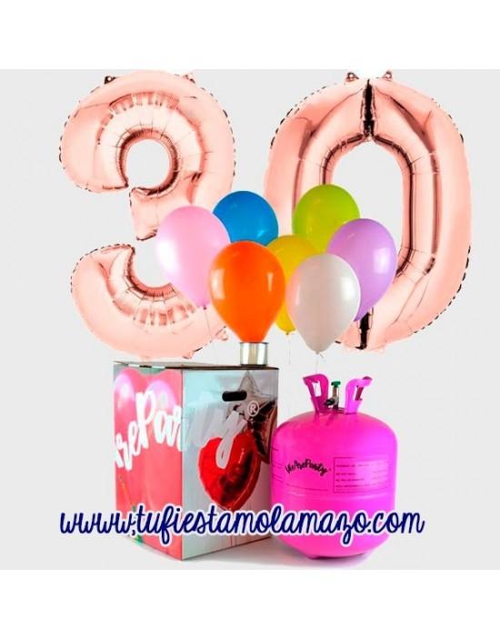 Pack Cumpleaños Rosa Dorado