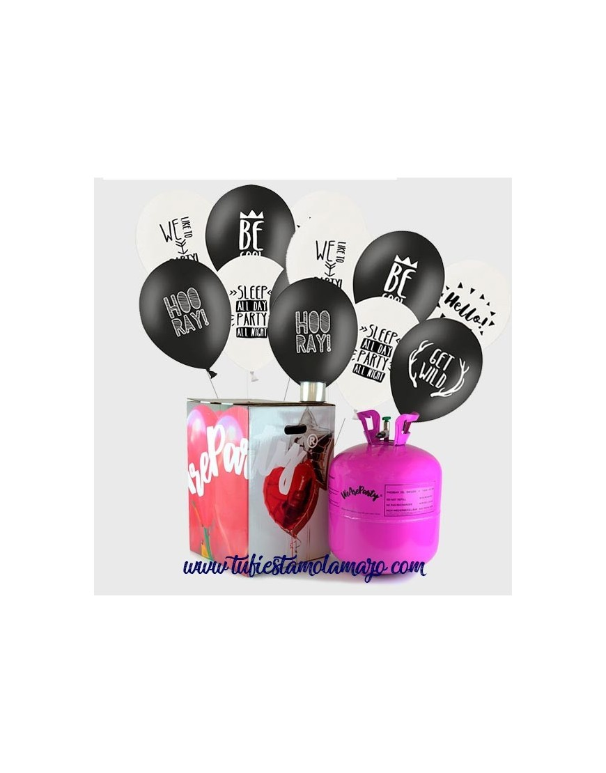 Pack Helio Maxi 50 Globos COOL