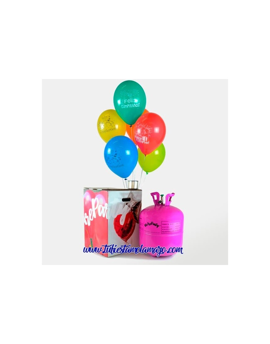 Pack Helio Feliz Cumpleaños 100