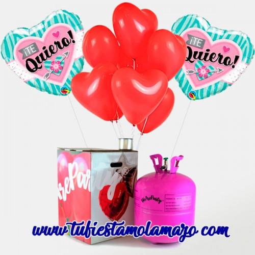 Pack San Valentin Te Quiero Rojo