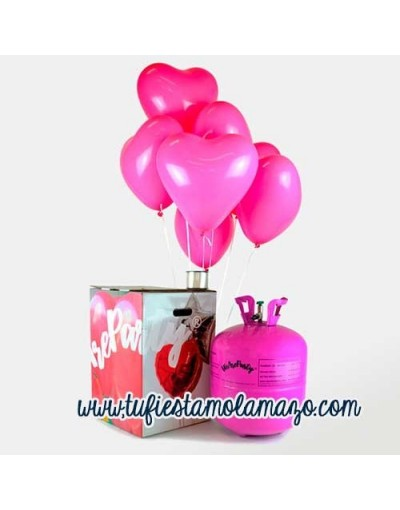Pack Helio San Valentin Rosa