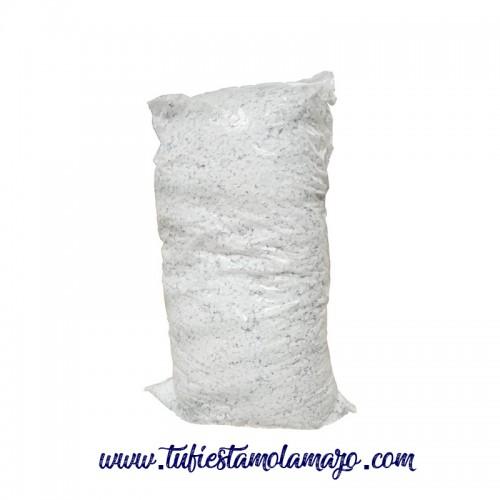 Confeti blanco nieve