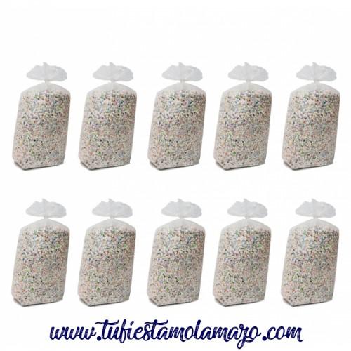Confeti Sacos 10 KG. (10 Unidades)