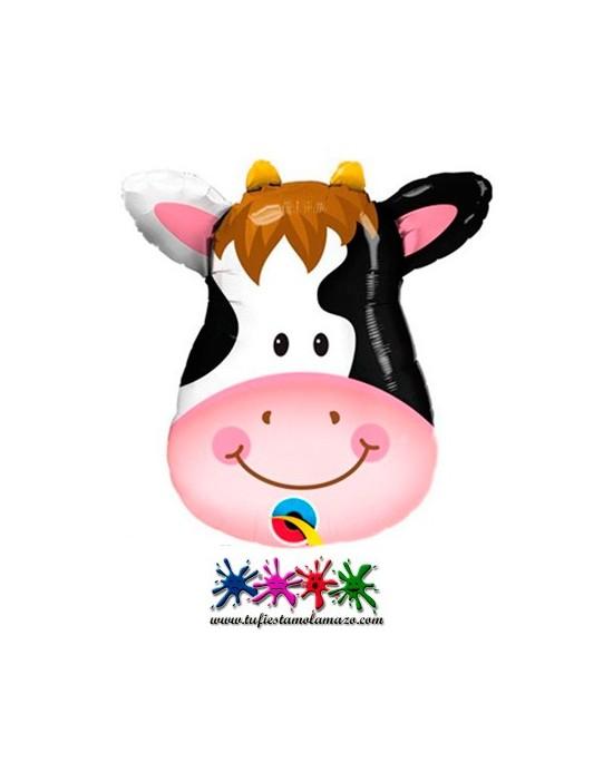 1 x Globo de foil con forma de vaca 81cm