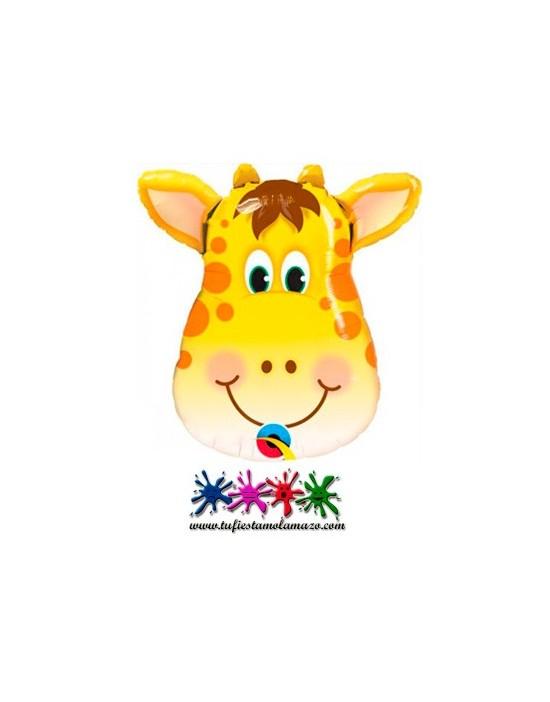 1 x Globo de foil con forma de jirafa 81cm