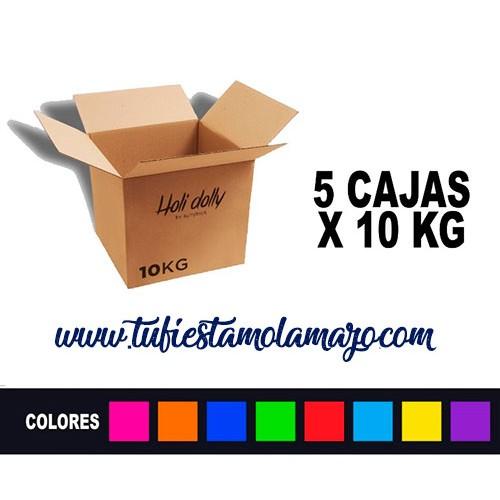 Polvo Holi (5 cajas X 10KG)