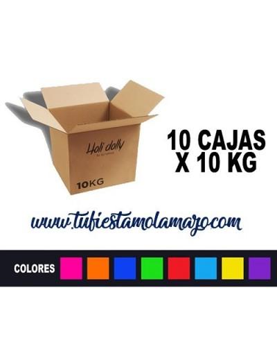 Polvo Holi (10 cajas X 10KG)