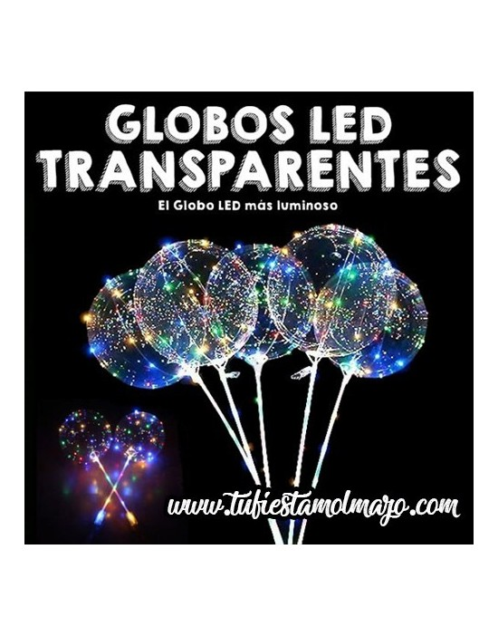 Globos luminosos LED Colores