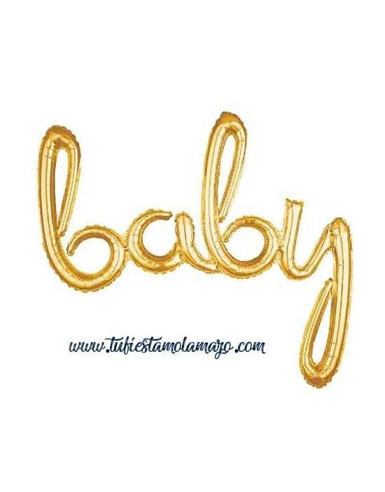 """Globos de foil Baby 39"""" (99Cm)"""