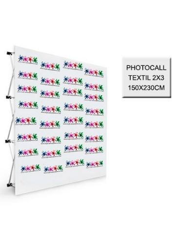 Photocall Textil 2x3 - 150x230 cm.