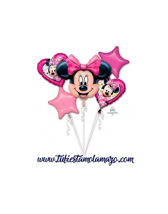 Pack Helio Maxi Globos Minnie