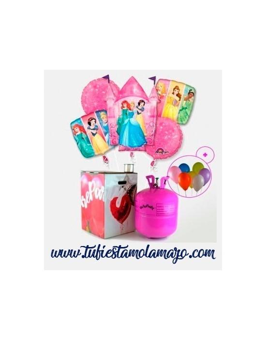 Pack Helio Maxi Globos de Princesas Disney