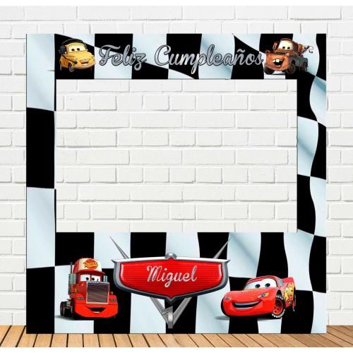 Marco de Polaroid infantil de Cars