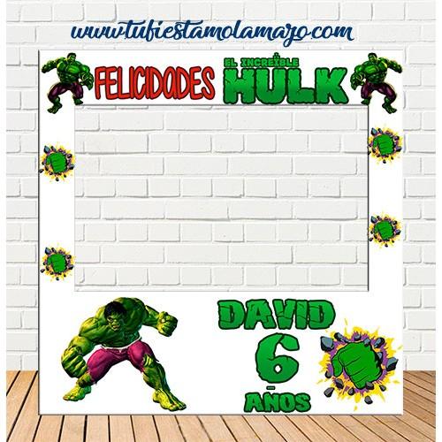 Marco de Polaroid infantil del Increible Hulk