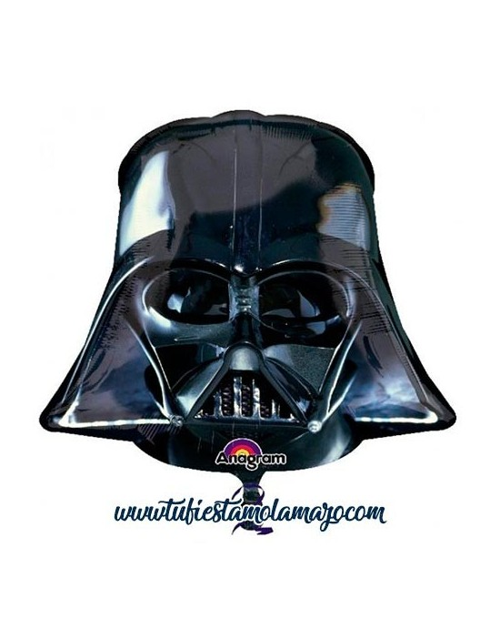 Globo de foil Star Wars de Darth Vader 63 cm.