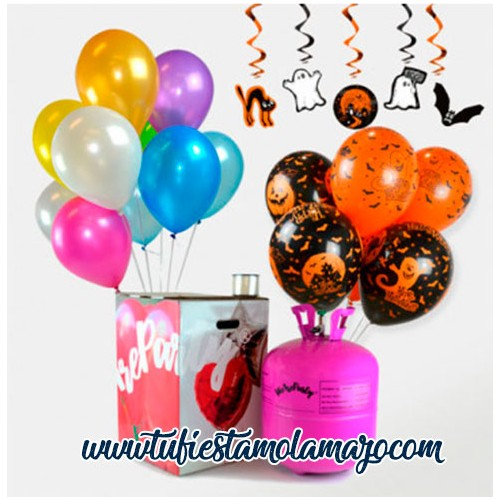 Pack Helio Maxi Halloween de Colores