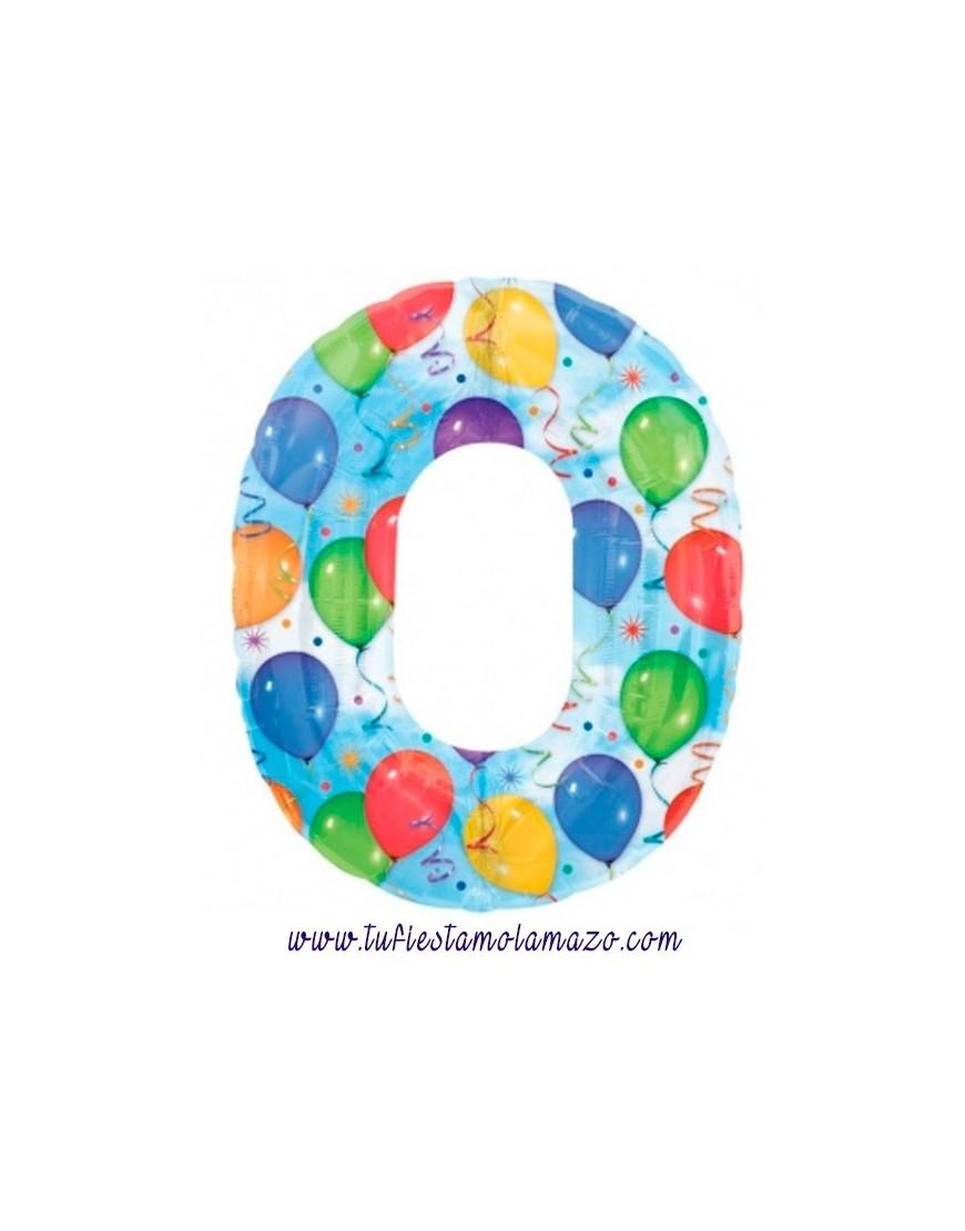 Globos de números de globos