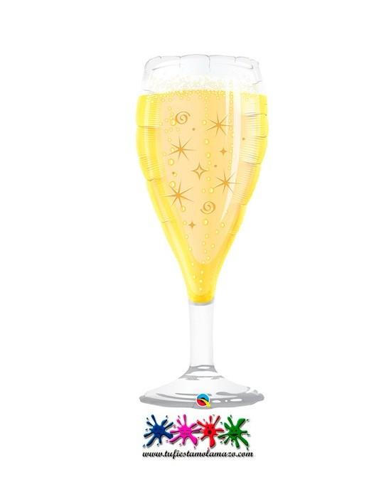 Globo de foil Copa de Champagne 99cm