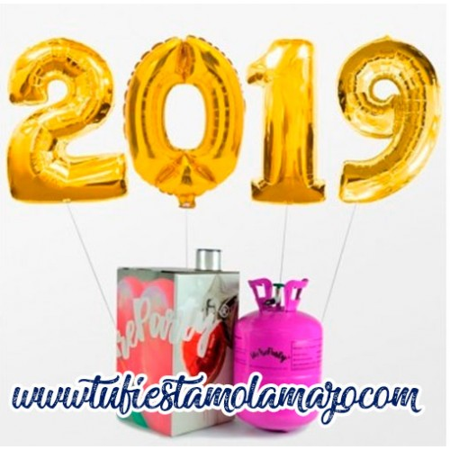 Pack Mini Feliz 2019 Oro